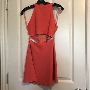 Bcbg bandage dress in pink